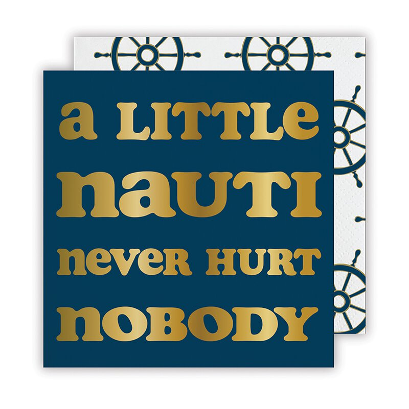 Slant Collections Little Nauti Napkin