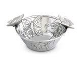 Arthur Court Butterfly Nut Bowl