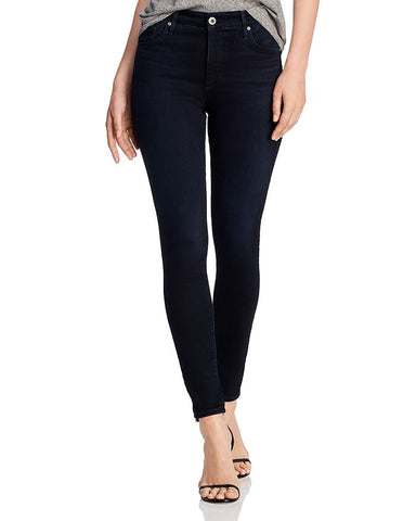 AG Farrah Skinny Ankle Blue Above