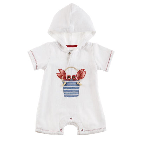 Mud Pie Crab Shortall Coverup