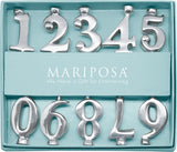 Mariposa Numbered Candle Holder Set