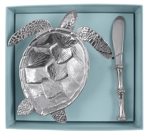 Mariposa Sea Turtle Dish Set