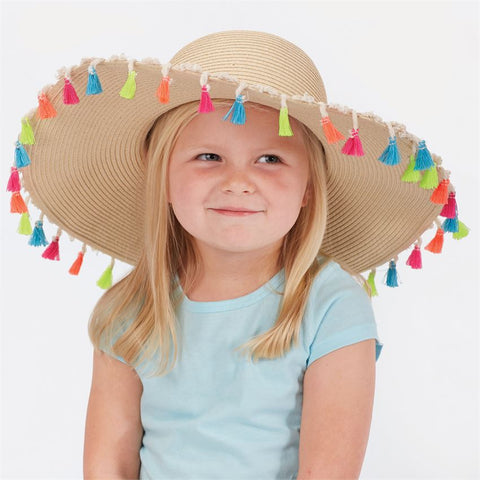Mud Pie Tassel Sun Hat