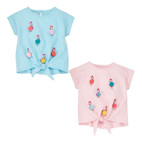 Mud Pie Girls Flamingo Tee