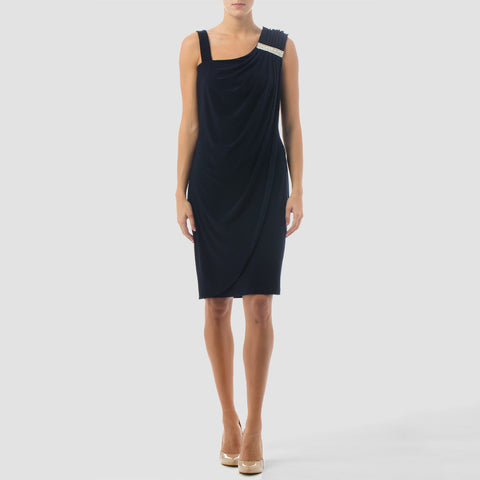 Joseph Ribkoff Sleeveless Embellished Dress 161015