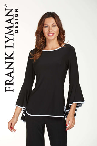 Frank Lyman Bell Sleeve Top