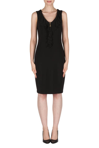 Joseph Ribkoff Ruffle Zip Dress