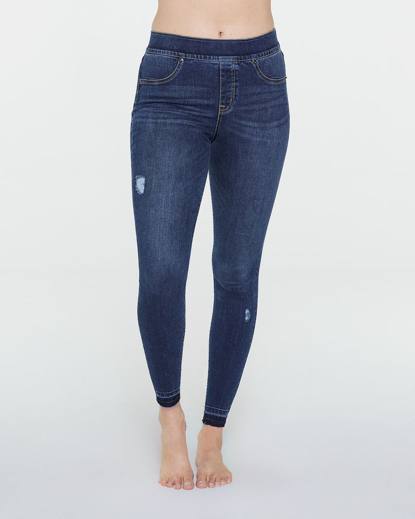 Spanx Distressed Denim Legging
