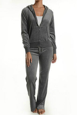 T-Party Velour Hoodie & Pant Set