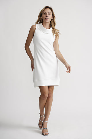 Joseph Ribkoff Textured Cowl Neck Dress