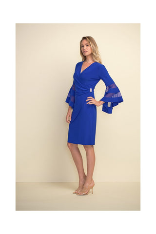 Joseph Ribkoff Belled Sleeve Dress