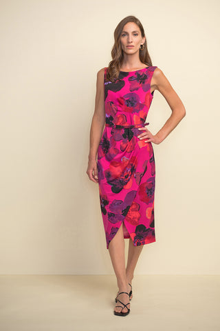 Joseph Ribkoff Floral Sheath Dress
