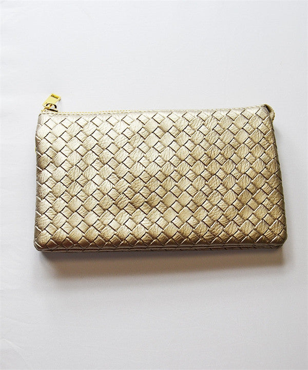 Caroline Hill Designs Betts Basketweave Crossbody - ShopBody.com - 1