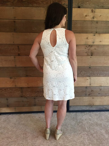 Veronica M Lace Tank Dress