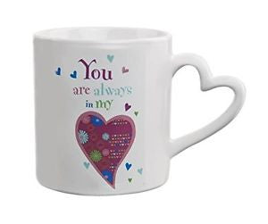 Ganz Always/Heart Mug
