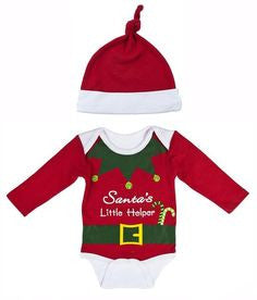 Ganz Santa's Helper Onesie Set - ShopBody.com