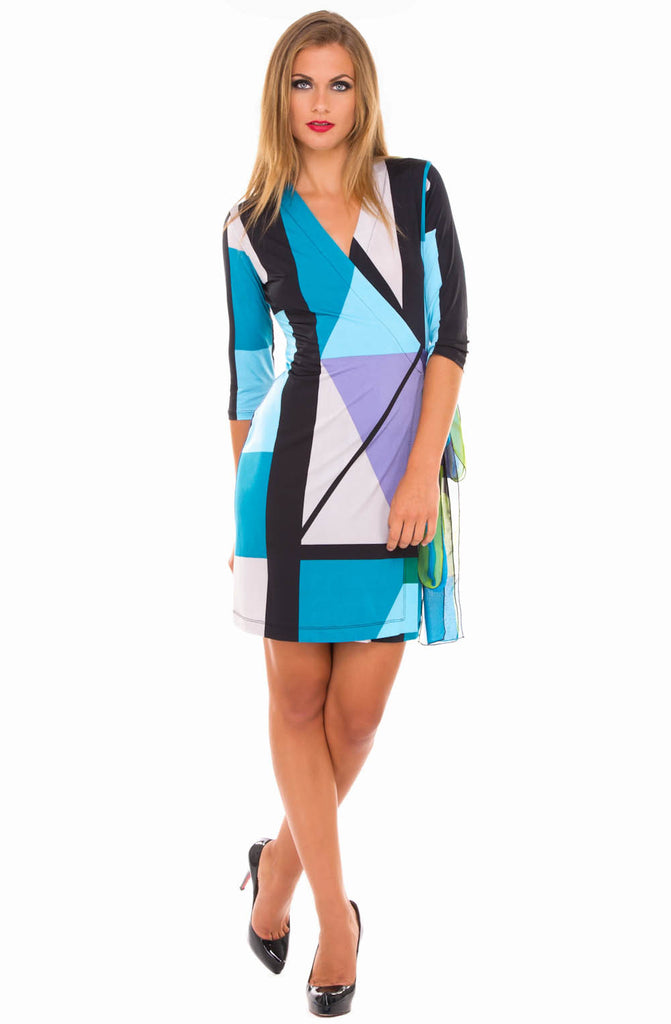 Analili Wrap Dress - ShopBody.com
