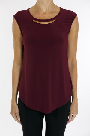 Joseph Ribkoff S/L Necklace Top - ShopBody.com - 1