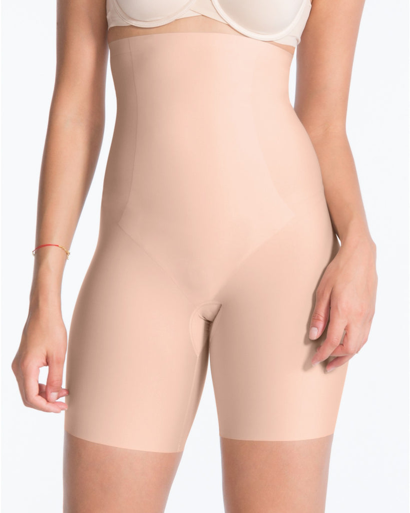 Spanx High-Waisted Midthigh Short - ShopBody.com - 1