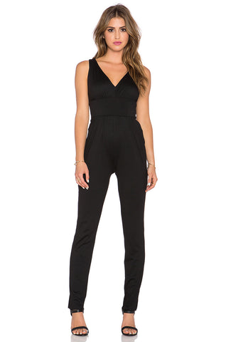 Susana Monaco Gathered Jumpsuit
