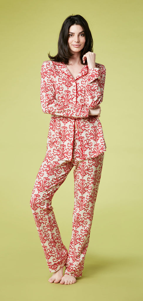 Bed Head Pajamas Classic Stretch PJ Set - ShopBody.com
