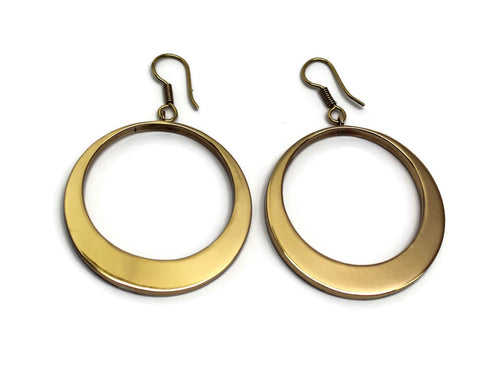 Charles Albert Alchemia - Alchemia Open Circle Earrings