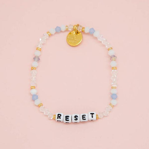 Little Words Project Beaded White - Reset