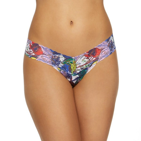 Hanky Panky Island Flower Low Rise Thong