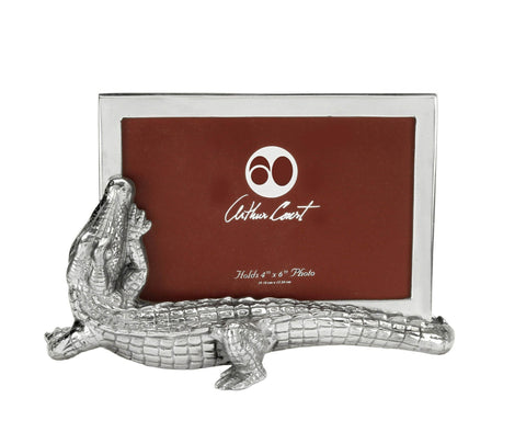 Arthur Court Alligator Photo Frame 4x6