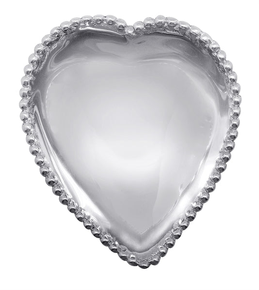 Mariposa Beaded Heart Bowl