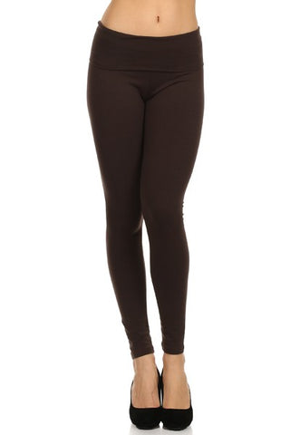 T-Party Foldover Solid Legging