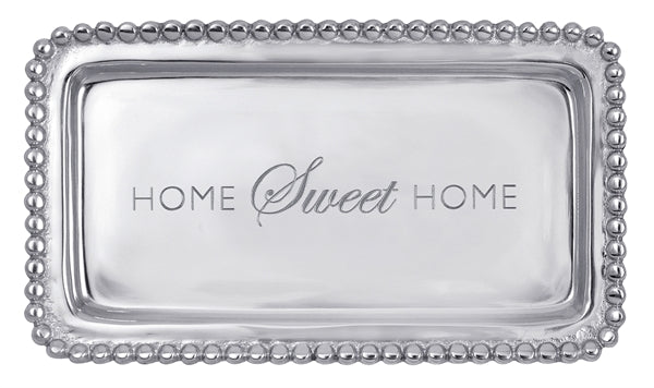 "Mariposa ""Home Sweet Home"" Tray"
