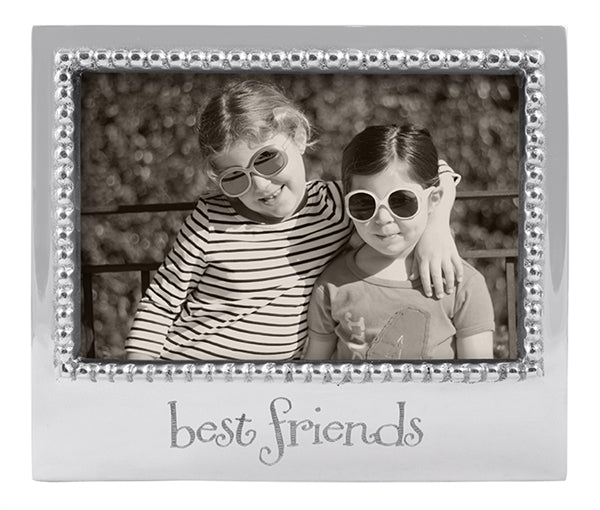 Mariposa Best Friends Beaded 4x6 Frame