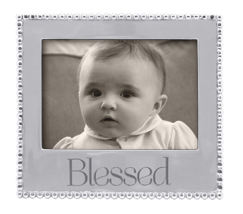Mariposa Blessed Beaded 5x7 Frame