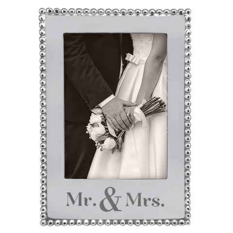 Mariposa Mr. & Mrs. 5x7 Vertical Frame