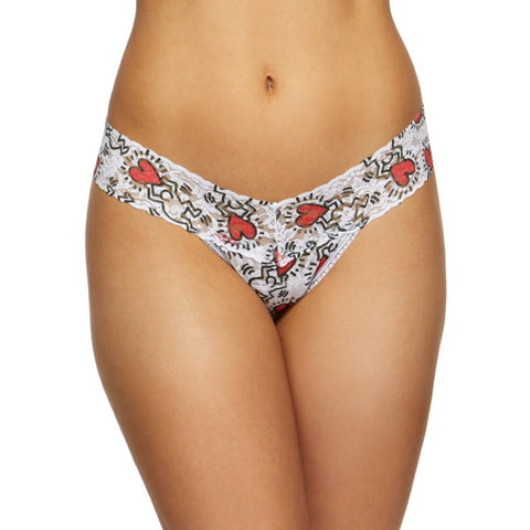 Hanky Panky + Keith Haring Low Rise Thong