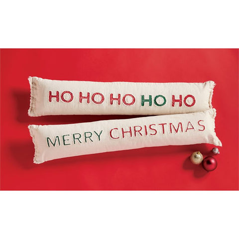 Mud Pie Christmas Skinny Pillow