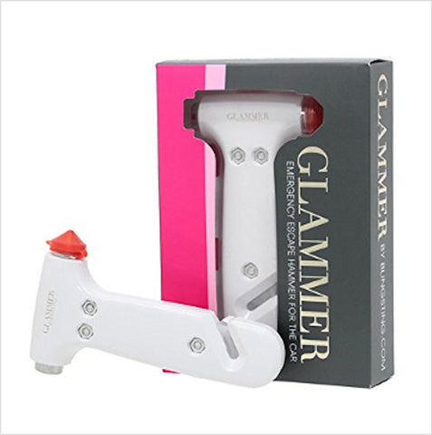 "Bling Sting ""Glammer"" Emergency Escape Hammer"