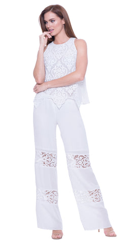 Analili Lace Drawstring Pant