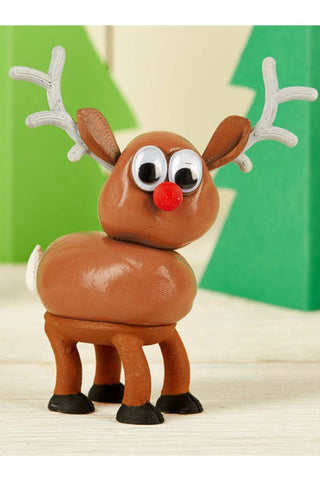 Cupcakes & Cartwheels Melting Reindeer