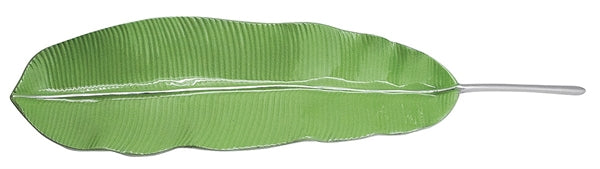 Mariposa Green Banana Leaf Server