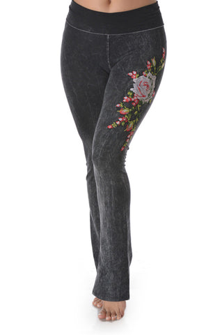 T-Party Embroidered Yoga Pant