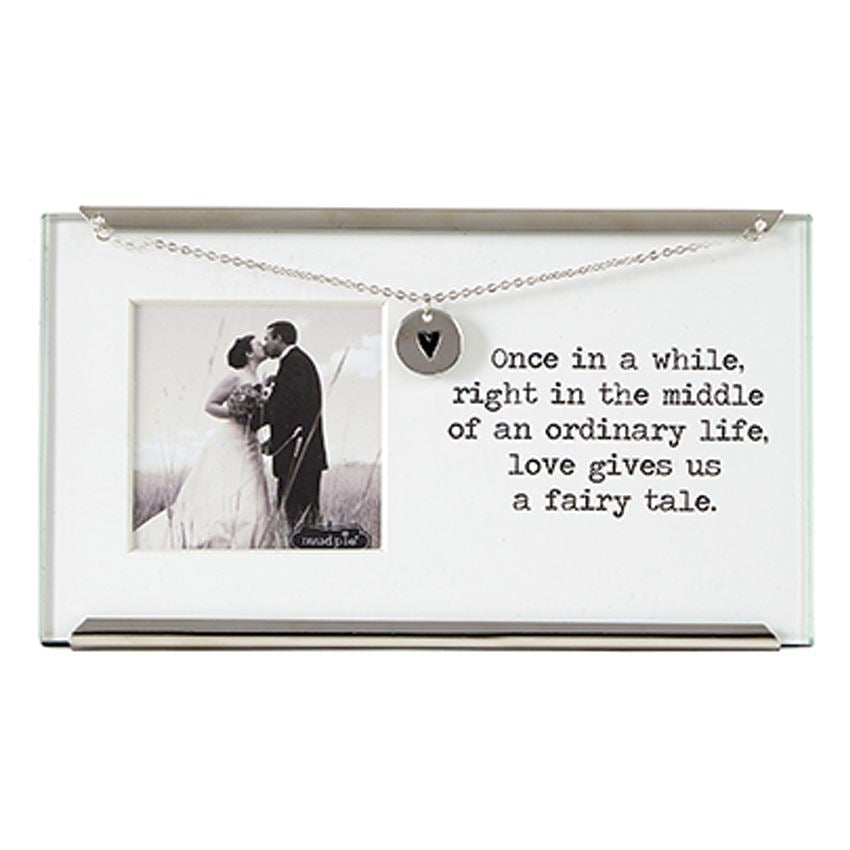 Mud Pie Wedding Small Clip Frame