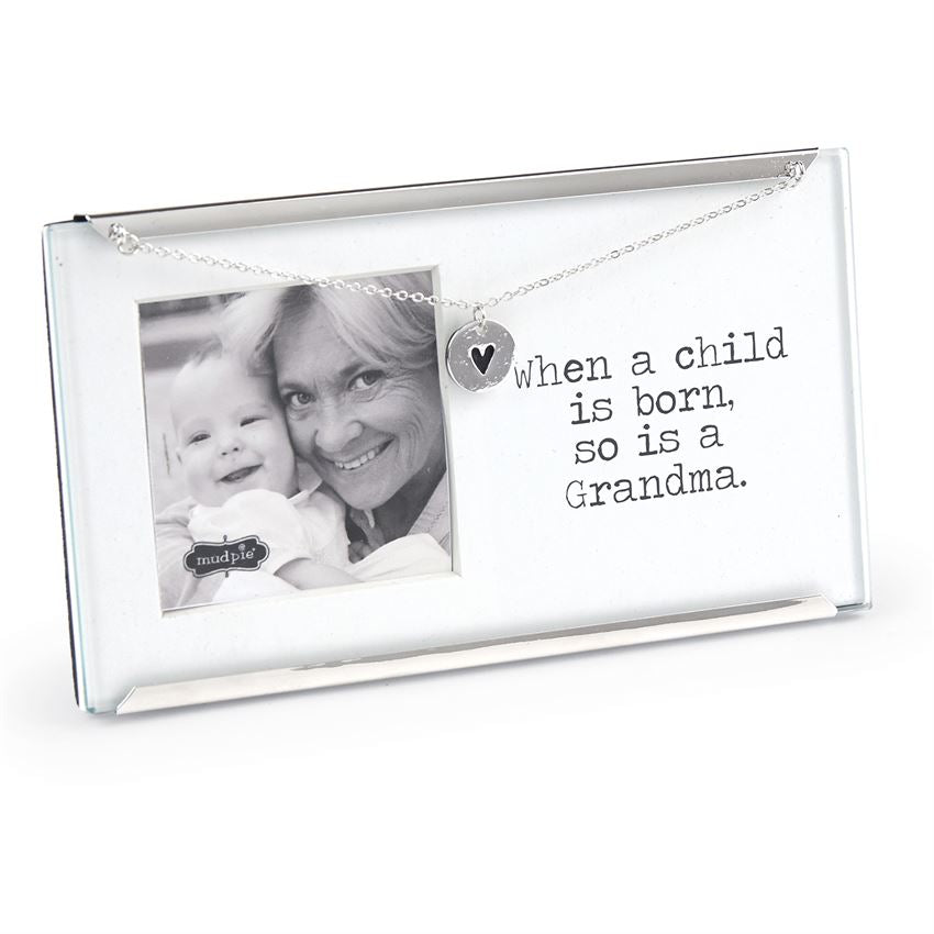Mud Pie Grandma Small Clip Frame
