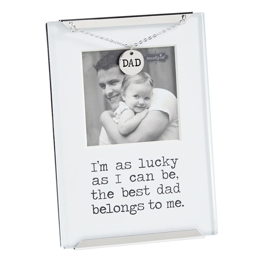 Mud Pie Dad Clip Frame