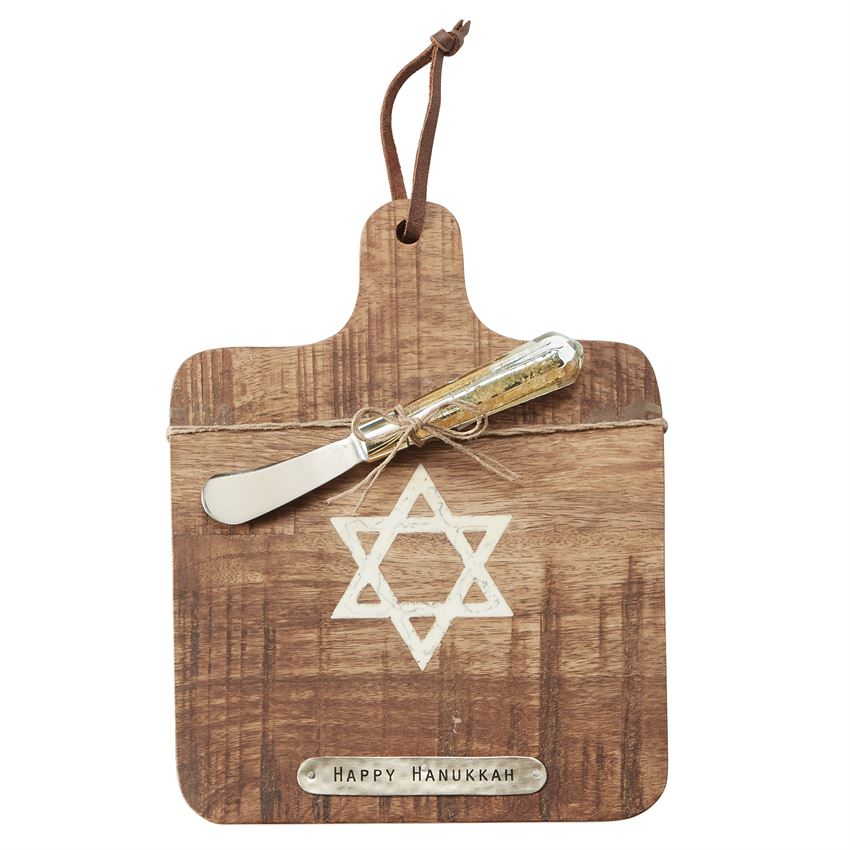 Mud Pie Hanukkah Board Set