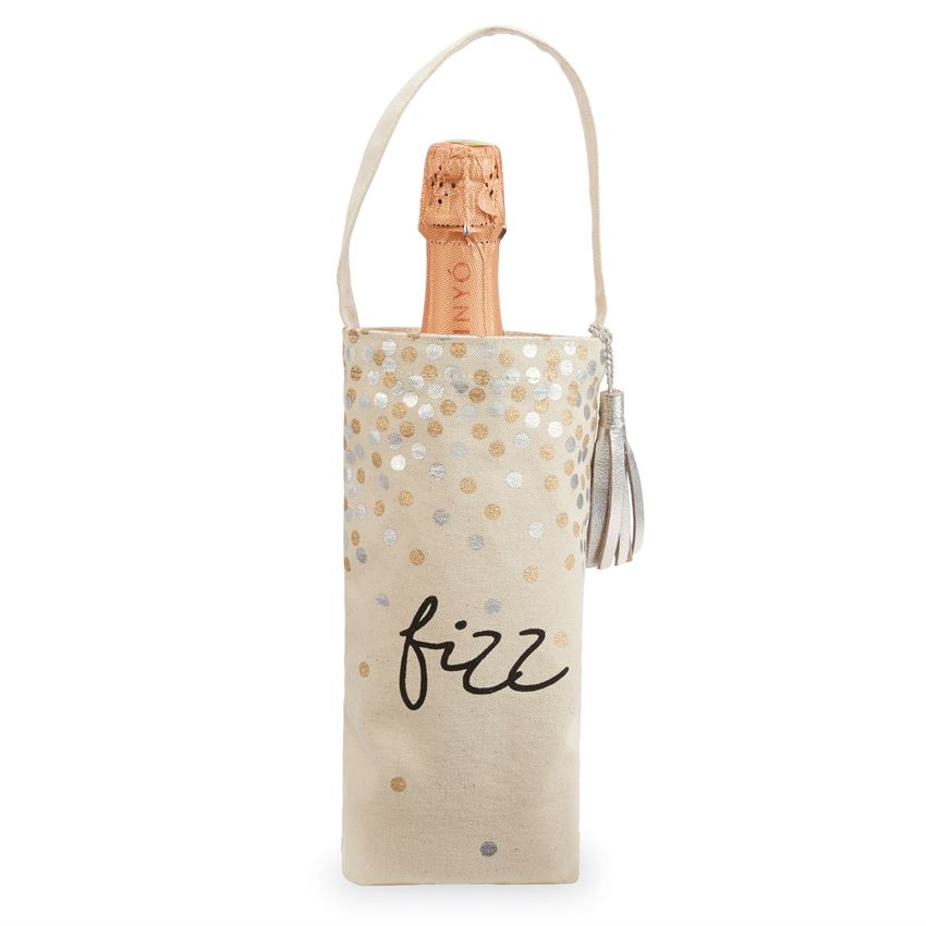 Mud Pie Gold Bottle Bags