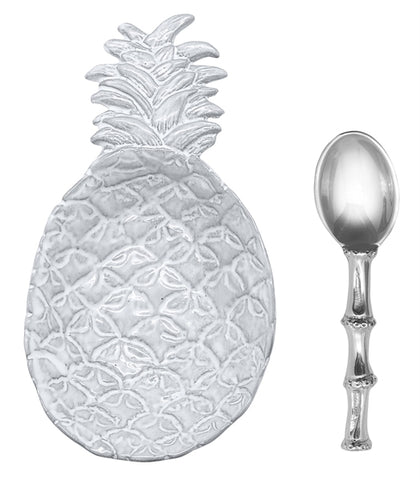 Mariposa Pineapple Ceramic Canape Set