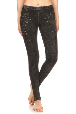 T-Party Rhinestone Legging