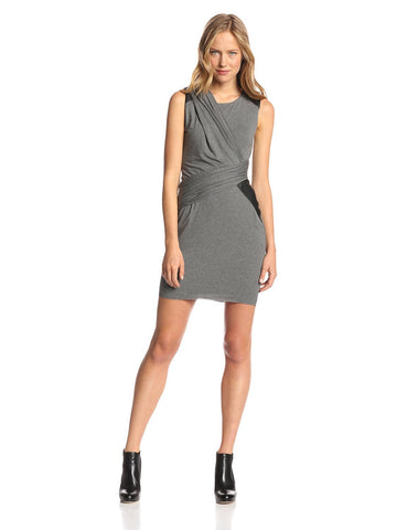 Bailey 44 Leaf Devil Draped Colorblock Dress